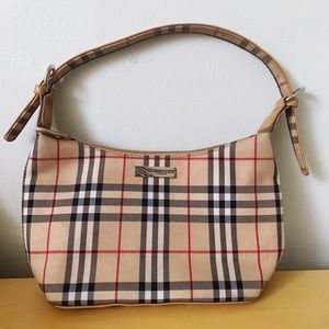 Knock off vintage Burberry purse